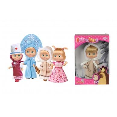 Lalka Masza 12 cm Masza i Niedźwiedź Simba