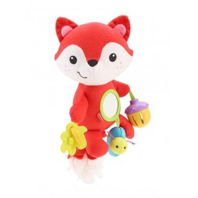 Lisek z zabawkami Fisher Price CDN56