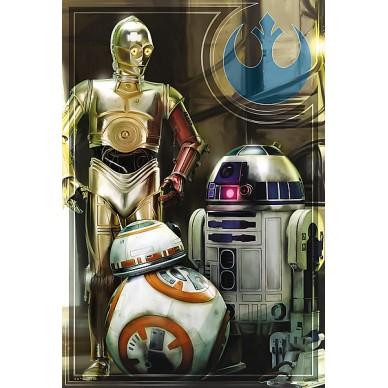 Puzzle Droidy 160el. Star Wars 15323 Trefl