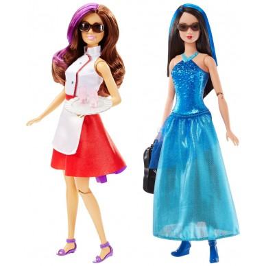 Lalka Agentka Przyjaciółka Barbie DHF06