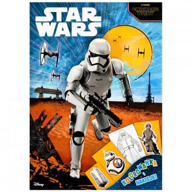 Książka Star Wars + naklejki DPN-21 Ameet
