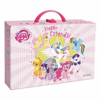 Duży kuferek kartonowy z rączką My Little Pony Starpak
