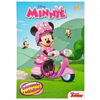 Kolorowanka z naklejkami Minnie Disney NA-44 Ameet