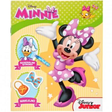 Książeczka z naklejkami Minnie Disney SSC-8 Ameet