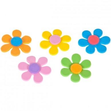 Ozdoba dekoracyjna z pianki samoprzylepne kwiatki Craft with Fun