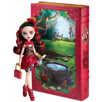 Księga Baśniowiosny + lalka Lizzie EAH CDM54 Mattel